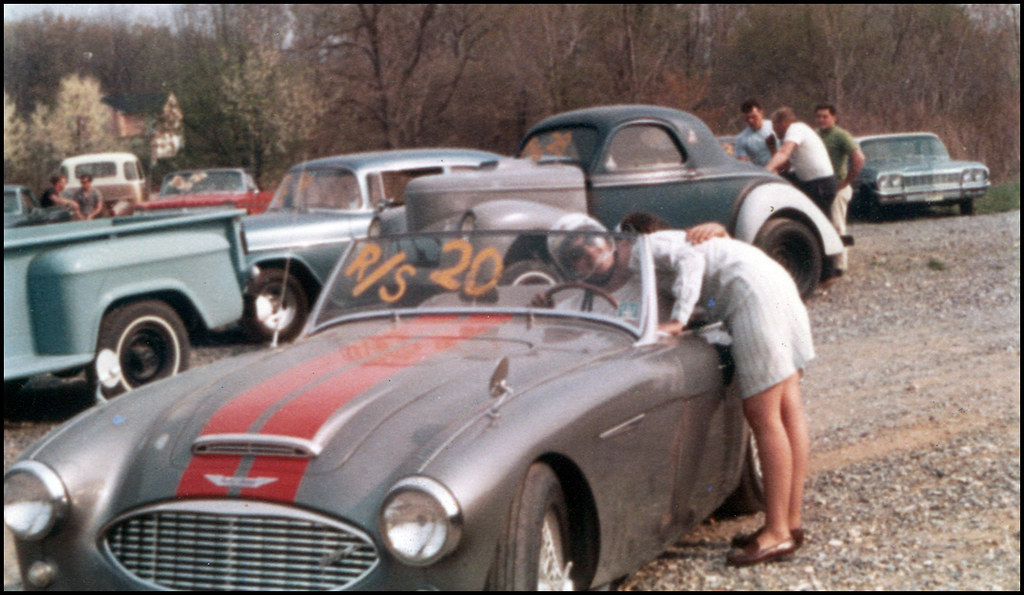 Old Pic - Getting ready for the big race - 1968