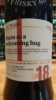 SMWS 73.110 - Warm as a welcoming hug