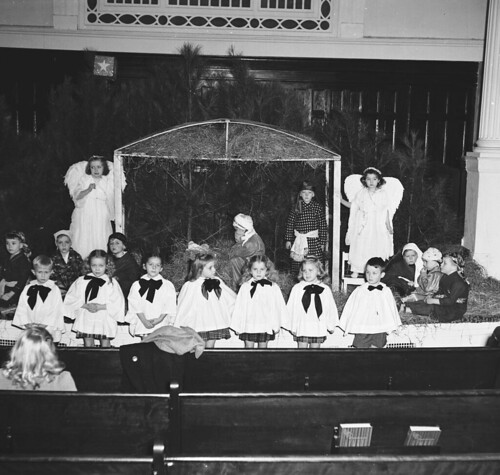 DARLPICT-First Baptist Church Xmas Padgent cir 1947 002   by HistoryGuyDCHC