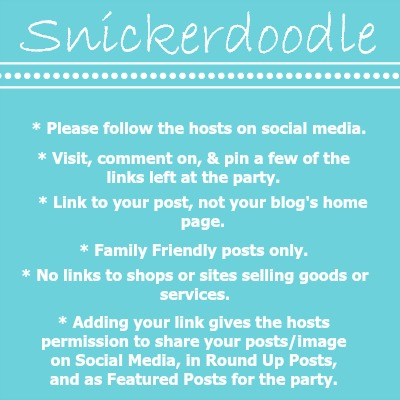 snickerdoodle-link-party-guidelines-updated-april