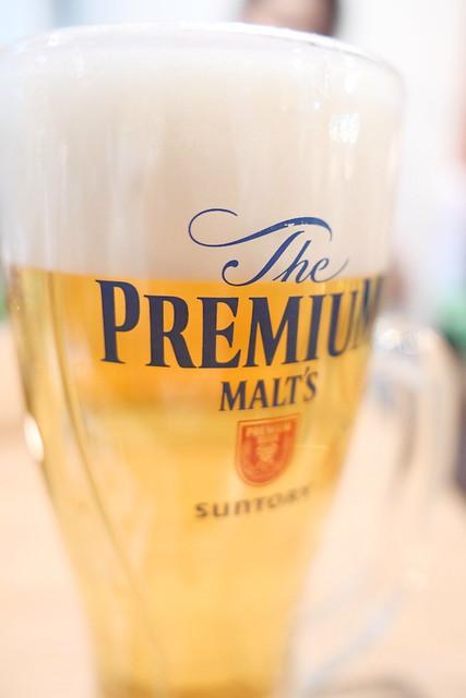 Premium Molt's draft beer