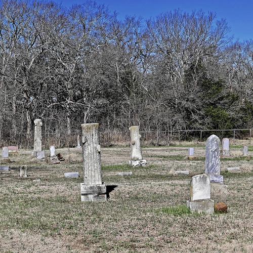 bee cemetery historicalmarkers oklahoma trees woodmenoftheworldmarkers