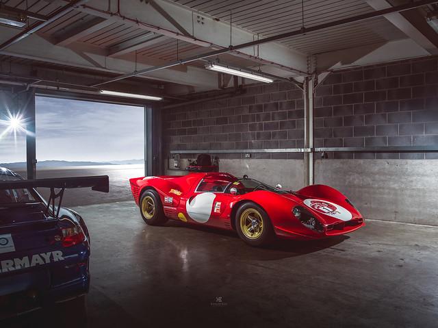 Ferrari 330P4 by Norwood