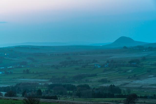 Slemish in Misty Twilight