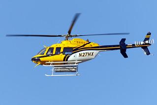 N27HX - Bell 407 - KPDK - Mar 2019