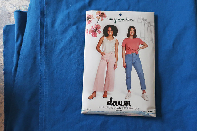 Dawn jeans blue fabric