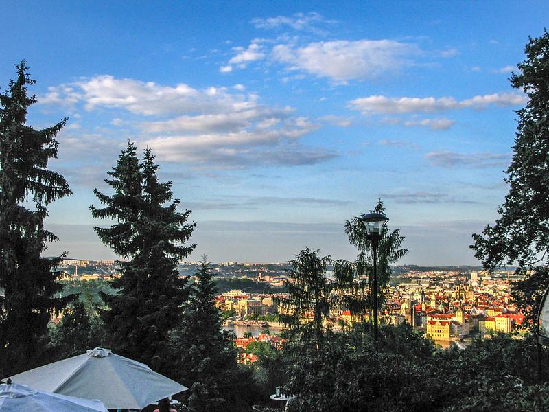 Restaurant Nebozizek 俯瞰布拉格市區 4