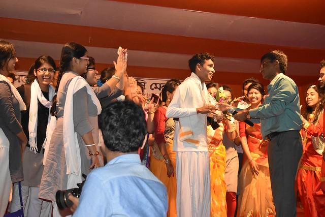 District Krishi Mela and Technology Week Celebration organized by Sasya Shyamala KVK, Ramakrishna Mission Vivekananda Educational and Research Institute (RKMVERI) in the KVK premises at Arapanch, Sonarpur during 14 to 16 February, 2019.