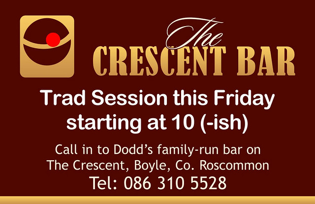 Dodd's Crescent Bar Trad Session