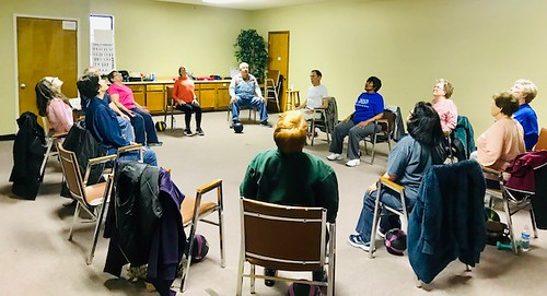 Crittenden County Chair Yoga