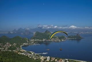 Paraglide em Noterói