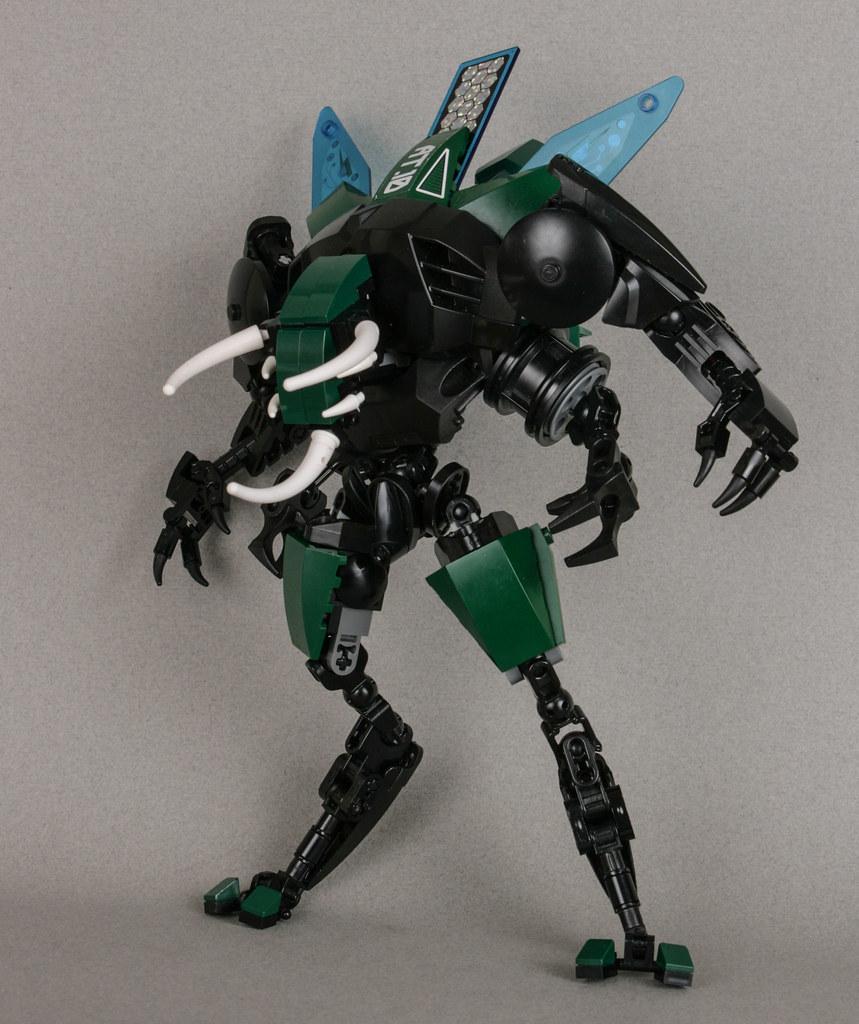 Atlas Beetle - Plague Mech: Tau