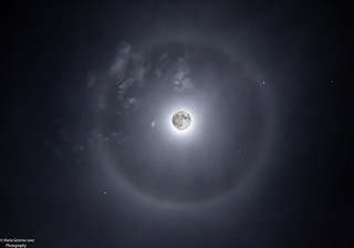 Halo Around The Moon   by Maria Gemma - A Passionate Photographer