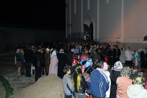 Пасхальное Богослужение в Свято-Никольском храме станицы Кавказской IMG_1503