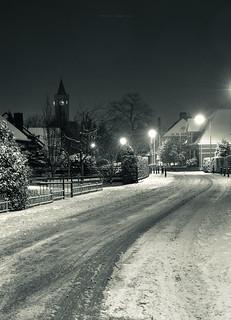 kerkstraat-sneeuw 22jan 2019 | by Ronald Lubbers IJsselMedia