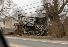 Burned Log House — Roachester, Ohio