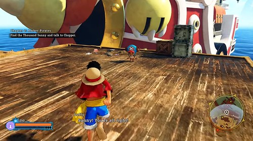 One Piece World Seeker - The Sunny | by OneAngryGamer.net