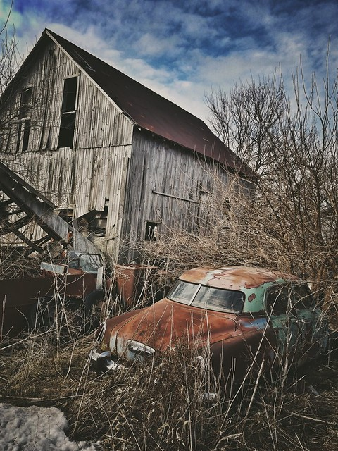 ruin and rust....