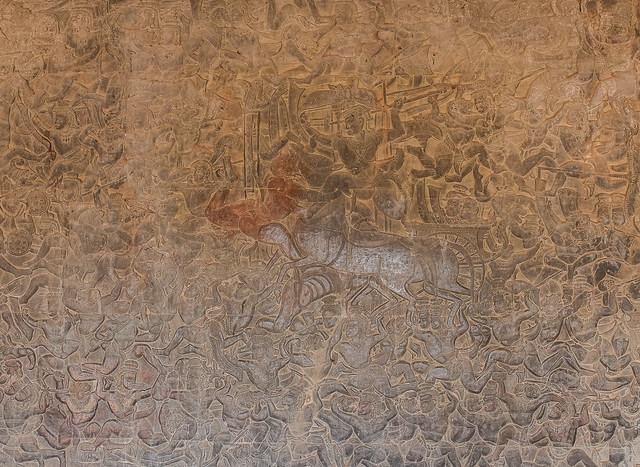 Depiction of War | Angkor wat,Cambodia | 2019.