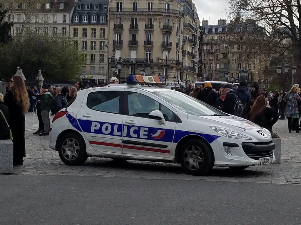 Paris France Peugeot Police Car 10964jb Flickr