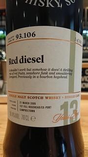 SMWS 93.106 - Red diesel