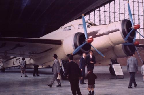 Savoia Marchetti SM.79 at the Museo del Volo, Turin 1969
