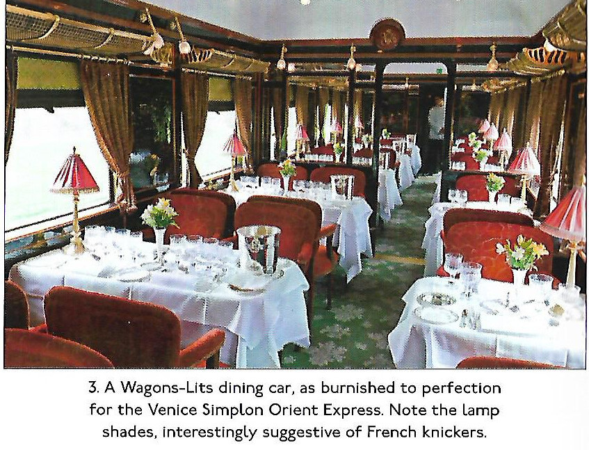 Fantastic A Simptonorient Express Dining Car John Coyle Scan Flickr Bralicious Painted Fabric Chair Ideas Braliciousco