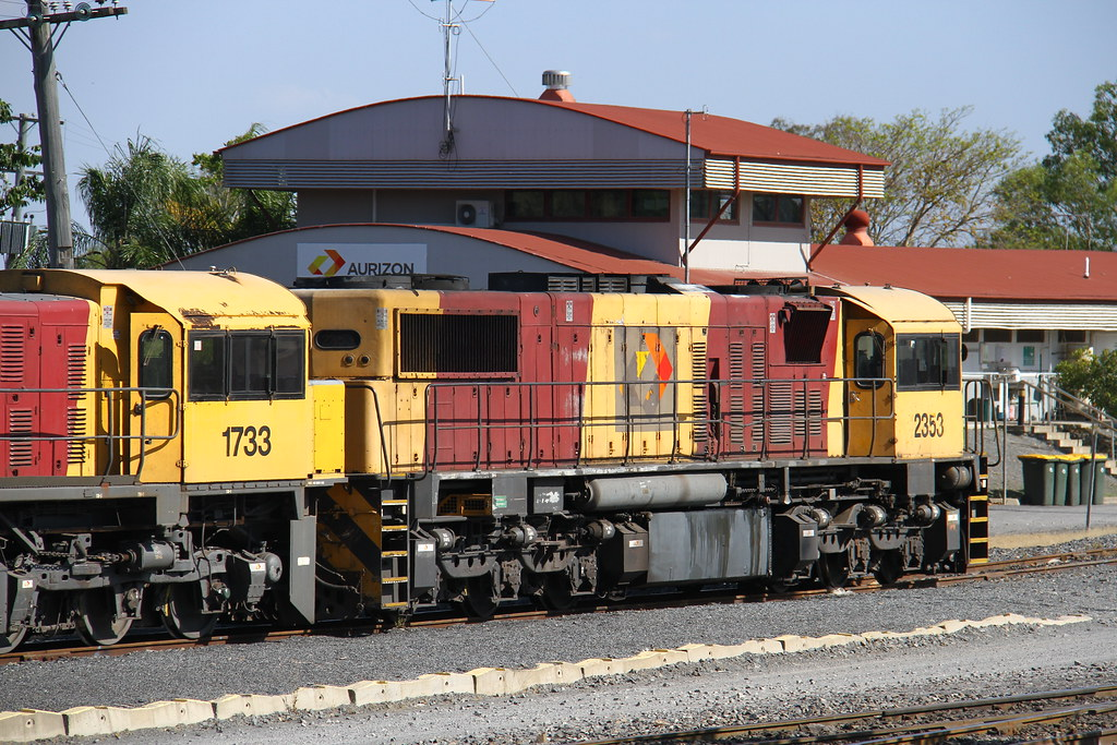 2353 stored at Rockhampton by David Arnold