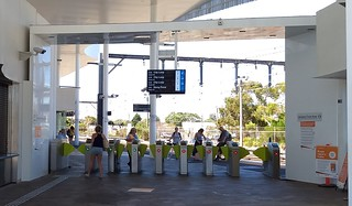 Fare gates at Frankston | by Daniel Bowen