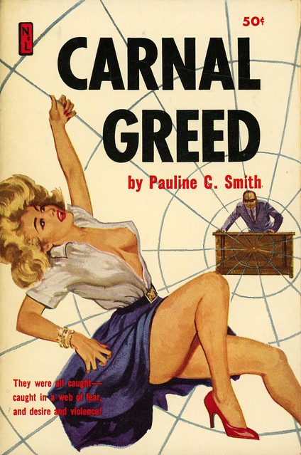 Newsstand Library U127 - Pauline C. Smith - Carnal Greed