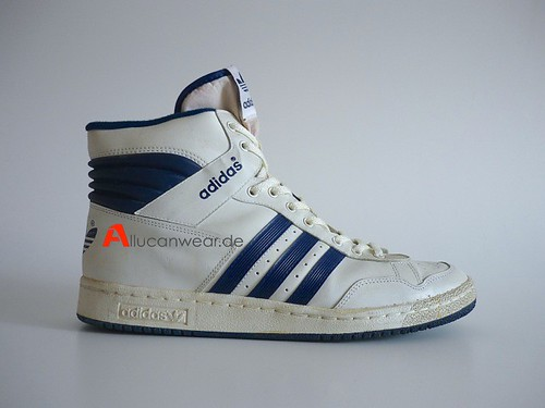 VINTAGE ADIDAS PRO CONFERENCE BASKETBALL SPORT HI SHOES / HI TOPS | by aucwd