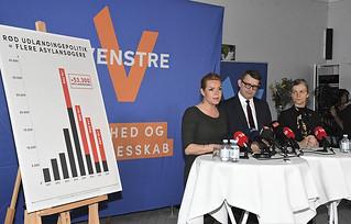 Pressemøde om udlændingepolitik | by venstredk