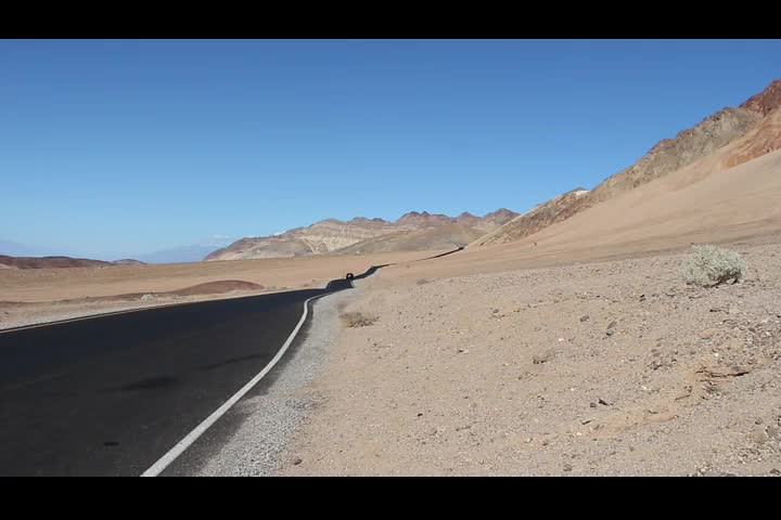 0193 Panorama video from Artists Drive in Death Valley