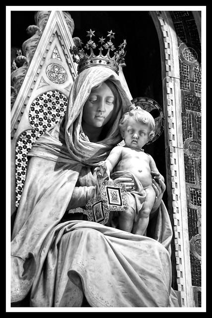 Madonna del Carmelo - Chiesa Corpus Domini - Milano