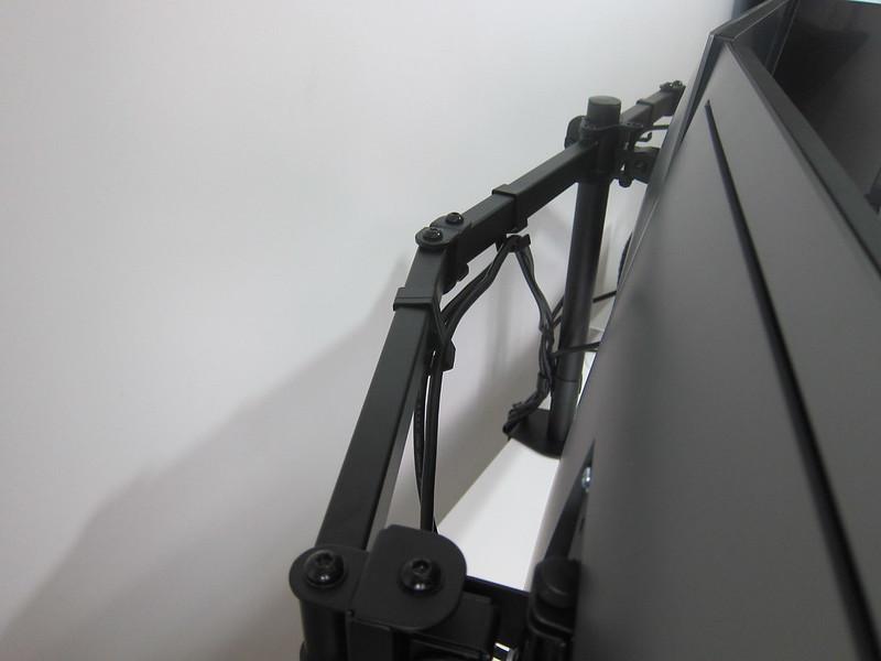 PRISM+ Vantage Triple Monitor VESA Monitor Arm - Cable Management