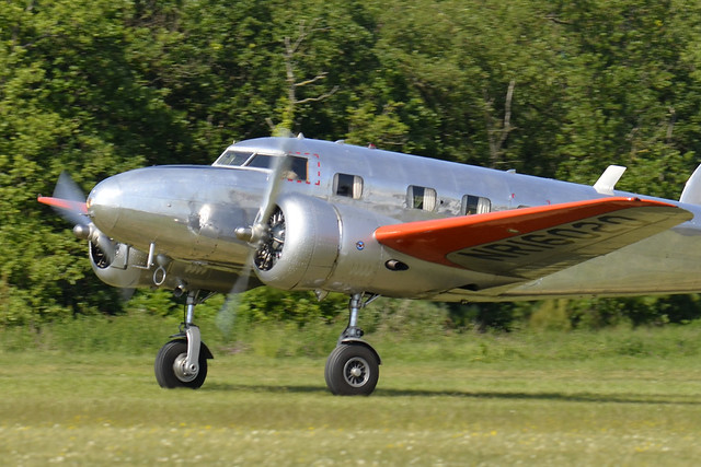 2018.05.19.355 LA FERTE ALAIS - Lockheed 12A Electra Junior (NR16020 - F-AZLL - cn.1287)