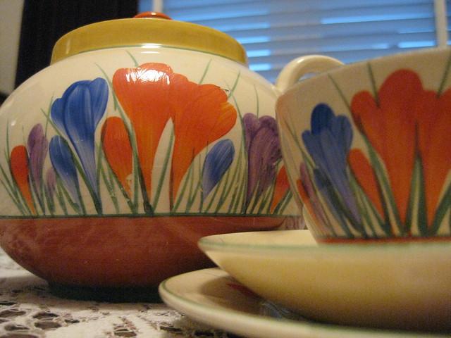 Tea With Clarice Cliff