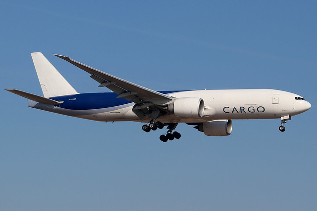 N703GT | Boeing 777-F16 | Southern Air (ex-LAN Cargo livery)