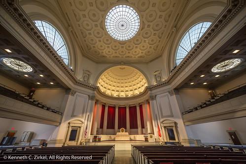 Syracuse University Hendricks Chapel interior