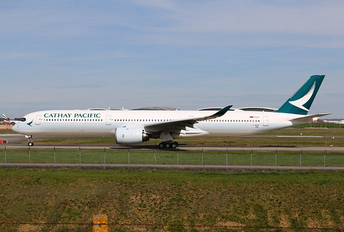 F-WZGF Airbus A350 Cathay Pacific | by @Eurospot