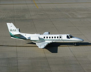 Citation 560 OO-CLX Brussels | by oldpeckhamboy1