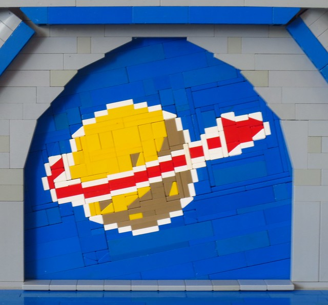 Classic space cheese mosaic