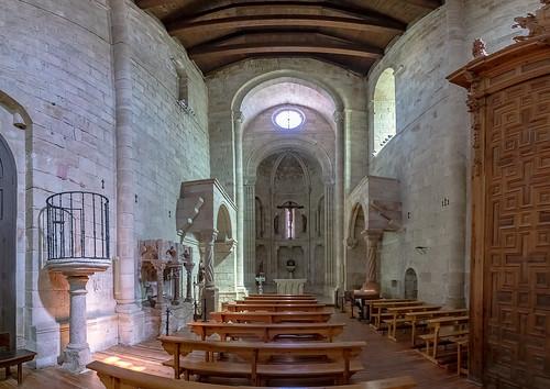 Zamora-Iglesia de la Magdalena-Interior