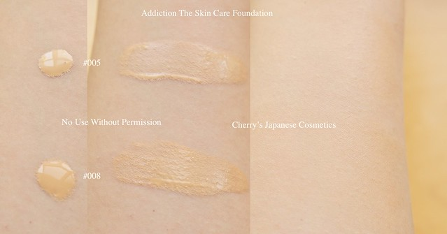 The skin care foundation