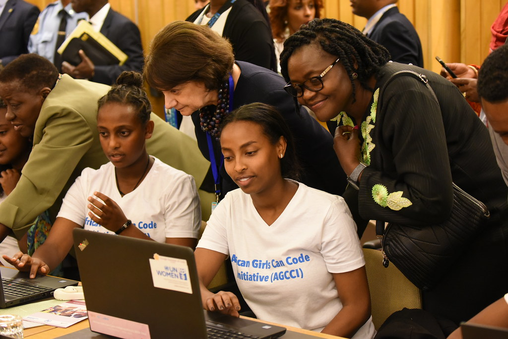 Ethiopia - UN Secretary-General meets Girl Coders | On 9 Feb