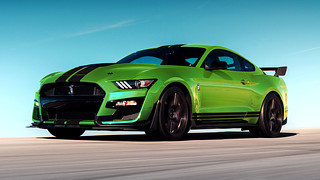 Heritage-Inspired Grabber Lime 2020 Ford Mustang | by autobabes_iMag