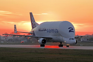Airbus Transport International Airbus A300-608ST Beluga F-GSTB XFW 25-02-19 | by Axel J.