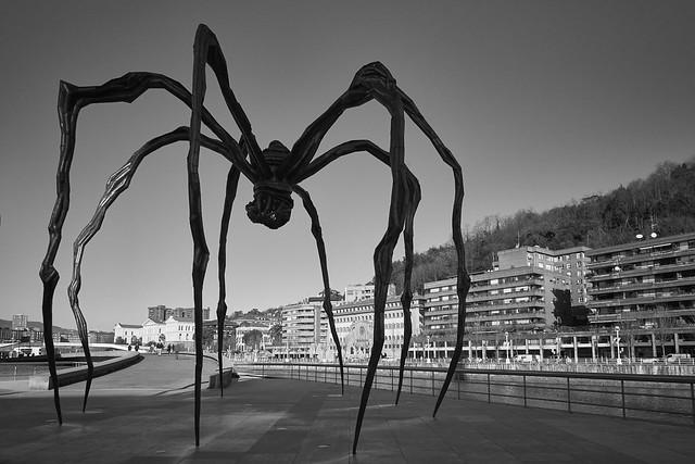 La araña negra de Bilbao