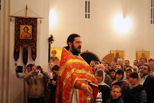 Пасхальное Богослужение в Свято-Никольском храме станицы Кавказской IMG_1340
