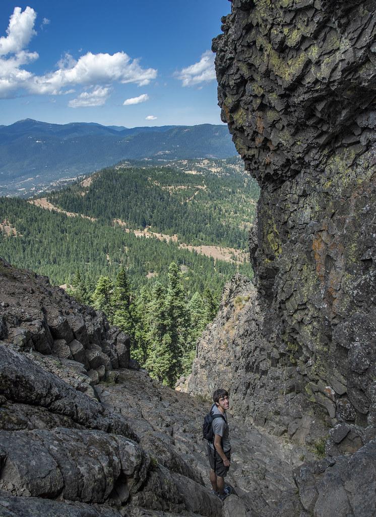 Descending Pilot Rock